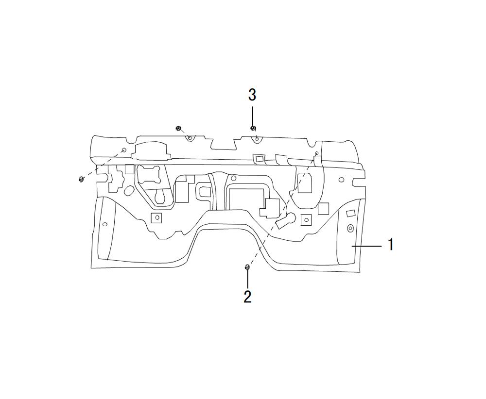 термо изоляция моторного отсека 2