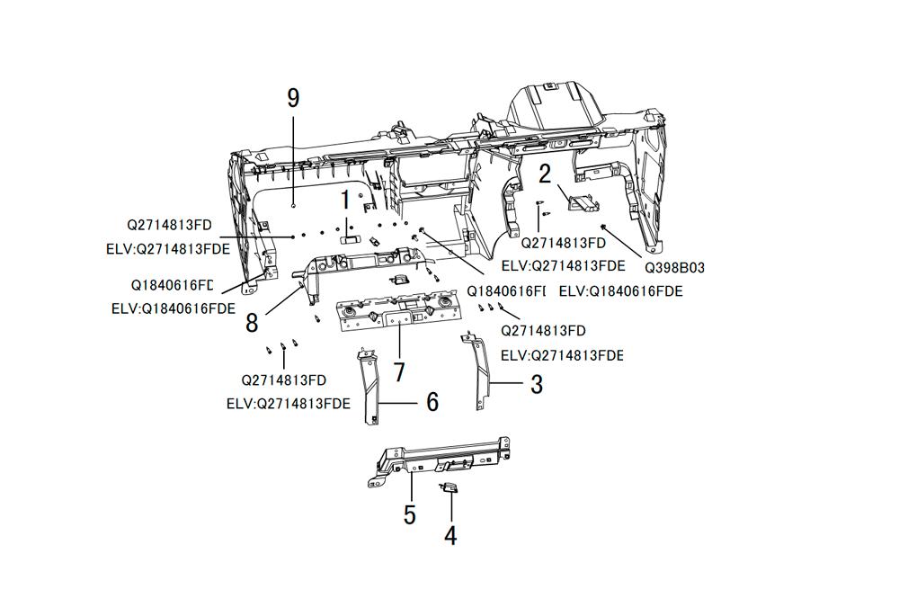 инструментальная панель 4