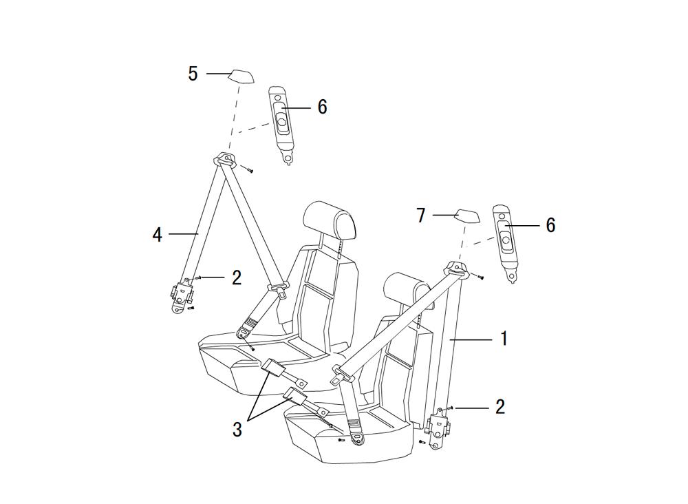 накладка передней двери (внутренняя)