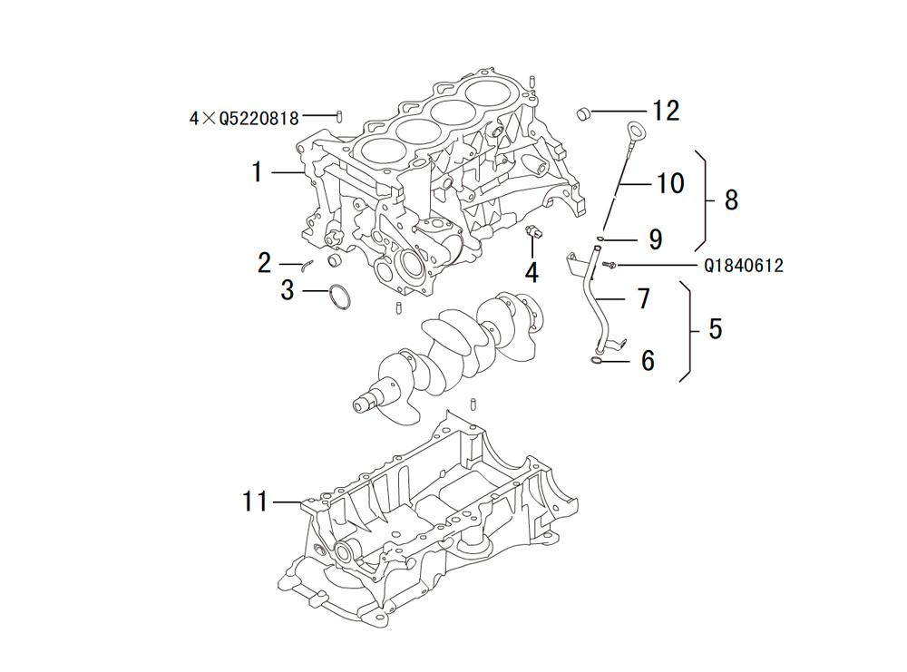 блок цилиндров 1