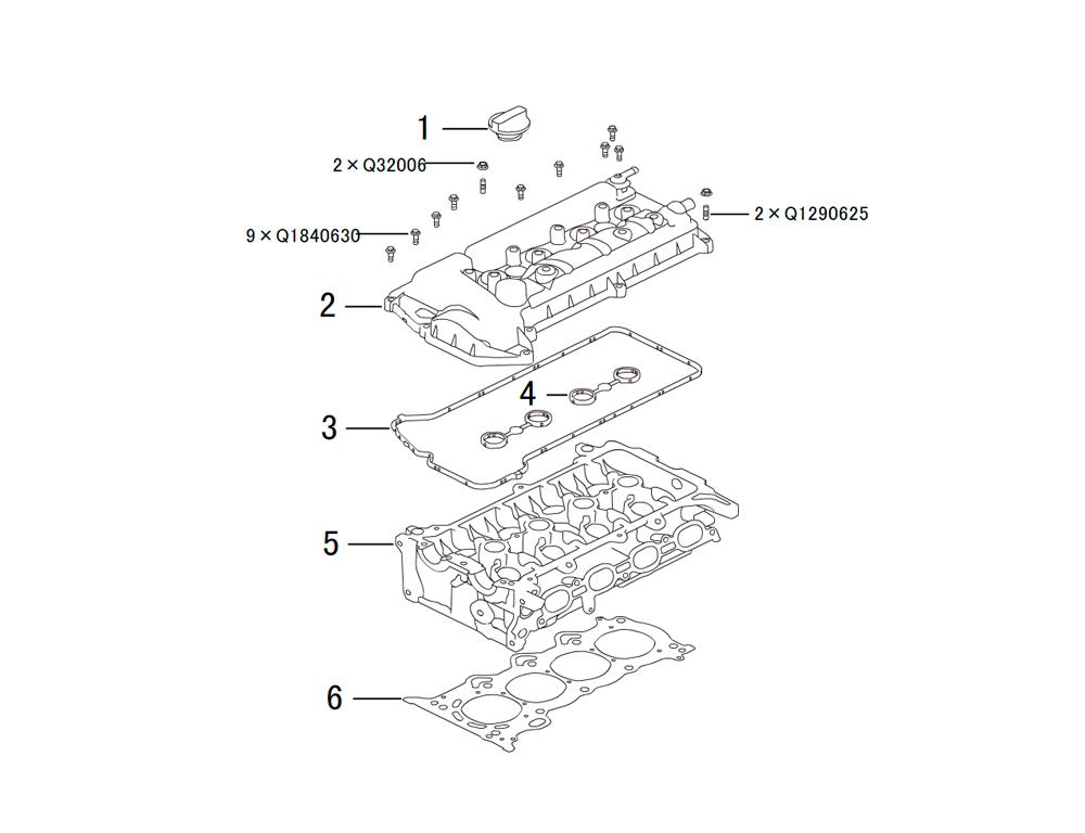 головка блока цилиндров