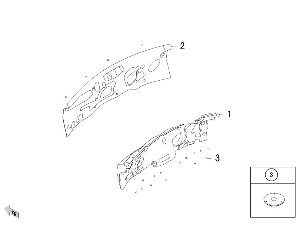 шумоизоляция передней стенки