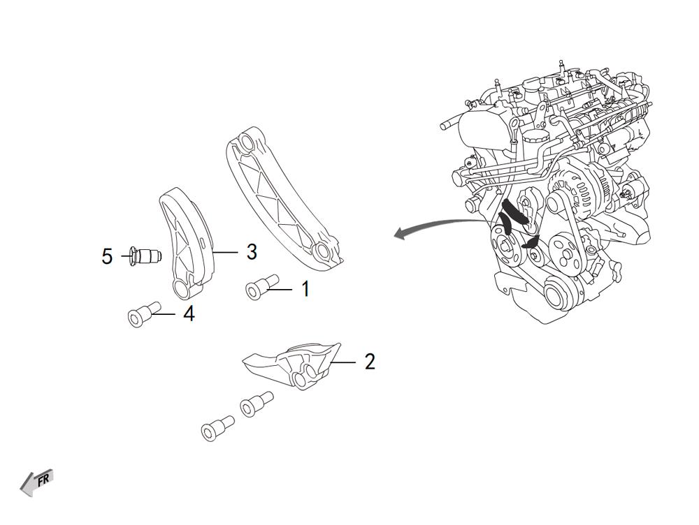 4C20 - цепь грм 3