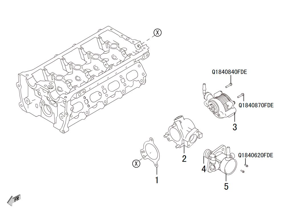 4C20 - вакуумная и масляная помпы