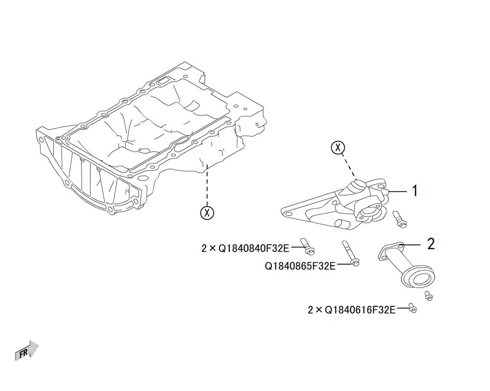 4C20 - масляная помпа