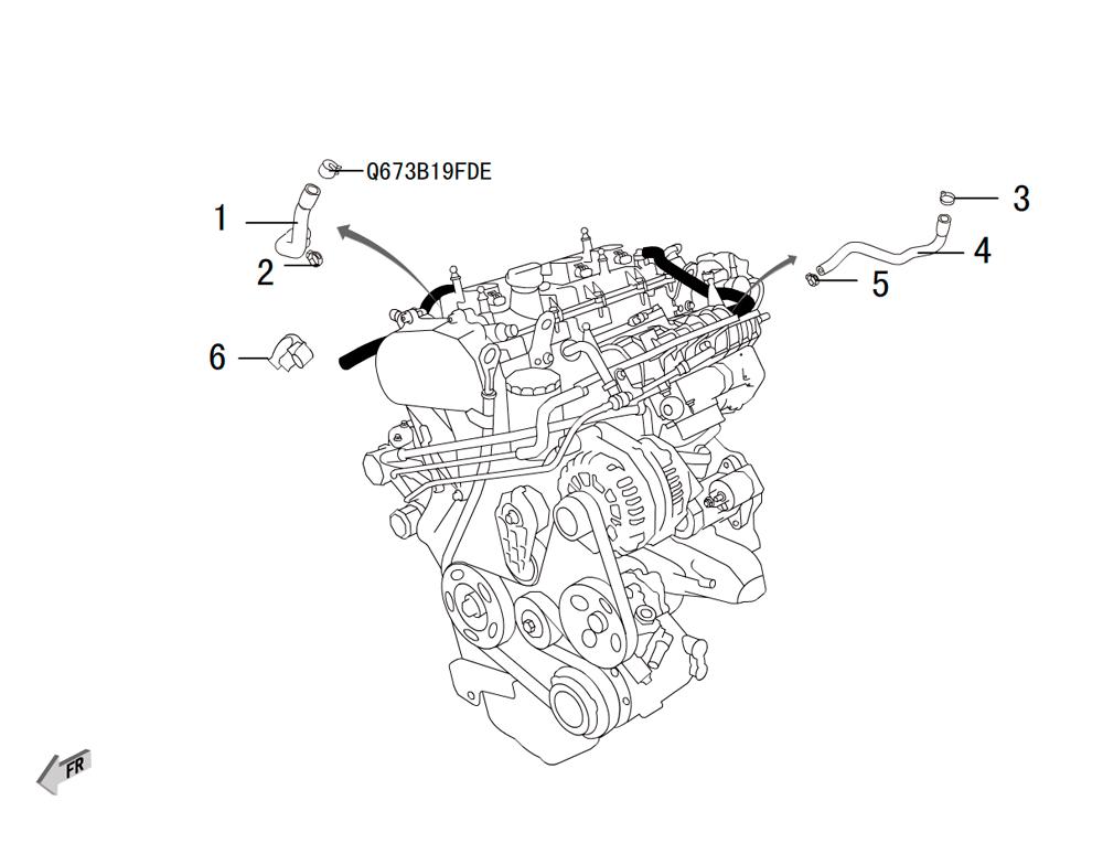 4C20 - вентиляция распредвалов