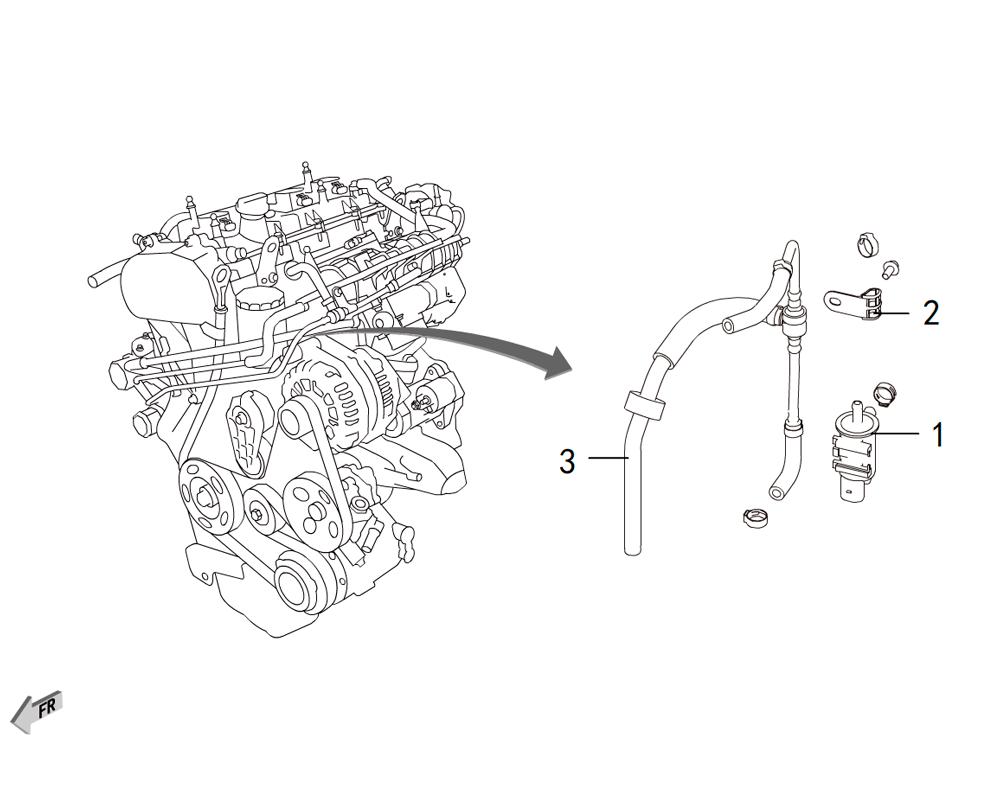 4C20 - клапан рекурперации
