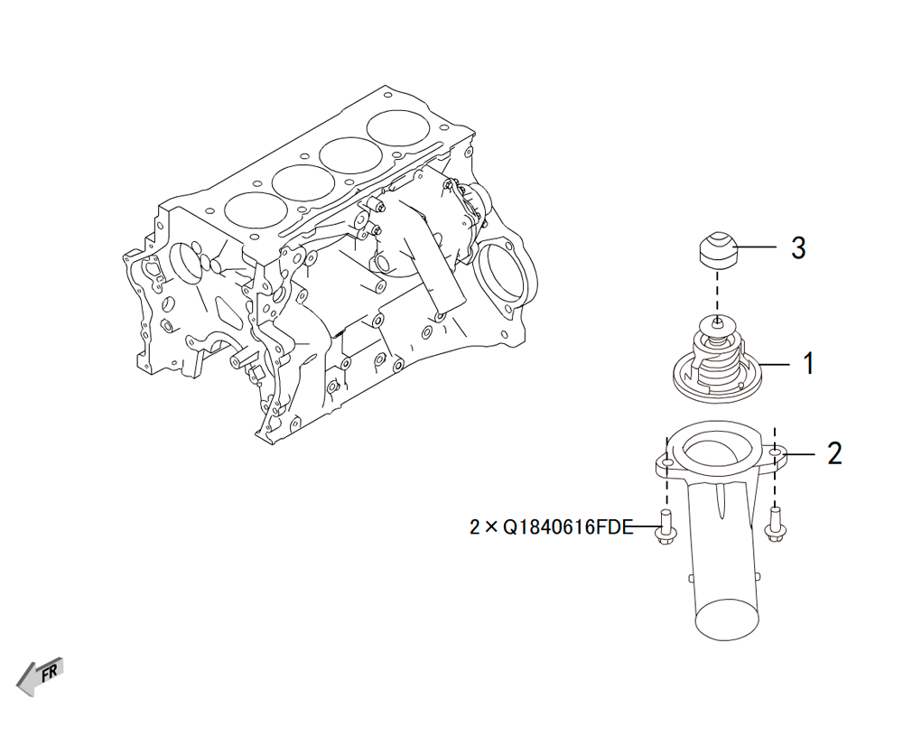 4C20 - термостат