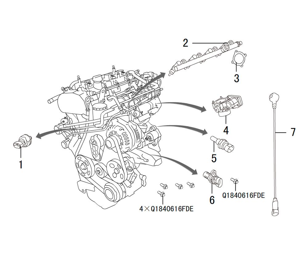 4C20 - датчики