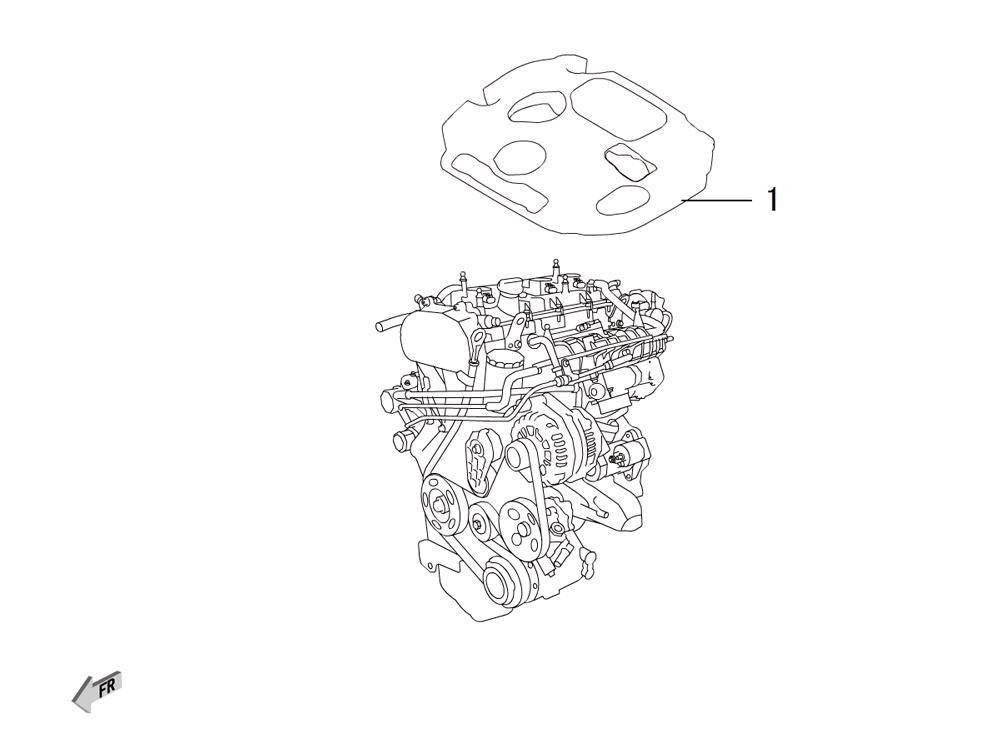 4C20 - звукоизоляция двигателя