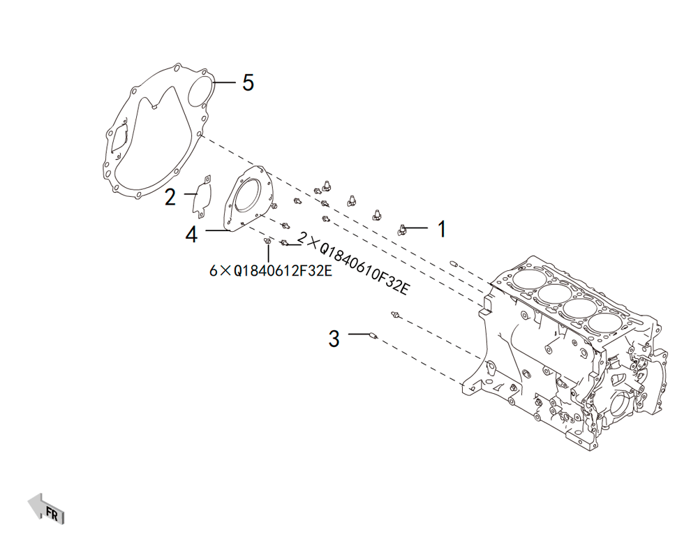 4C20 - блок цилиндров 1