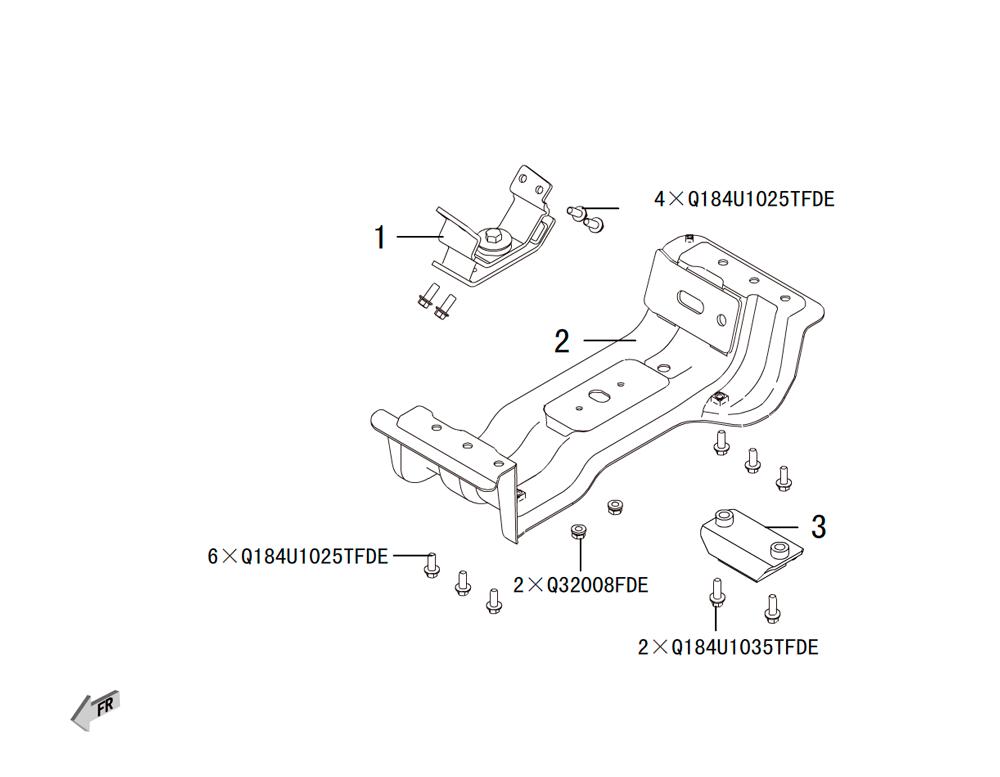 кпп - подушка кпп