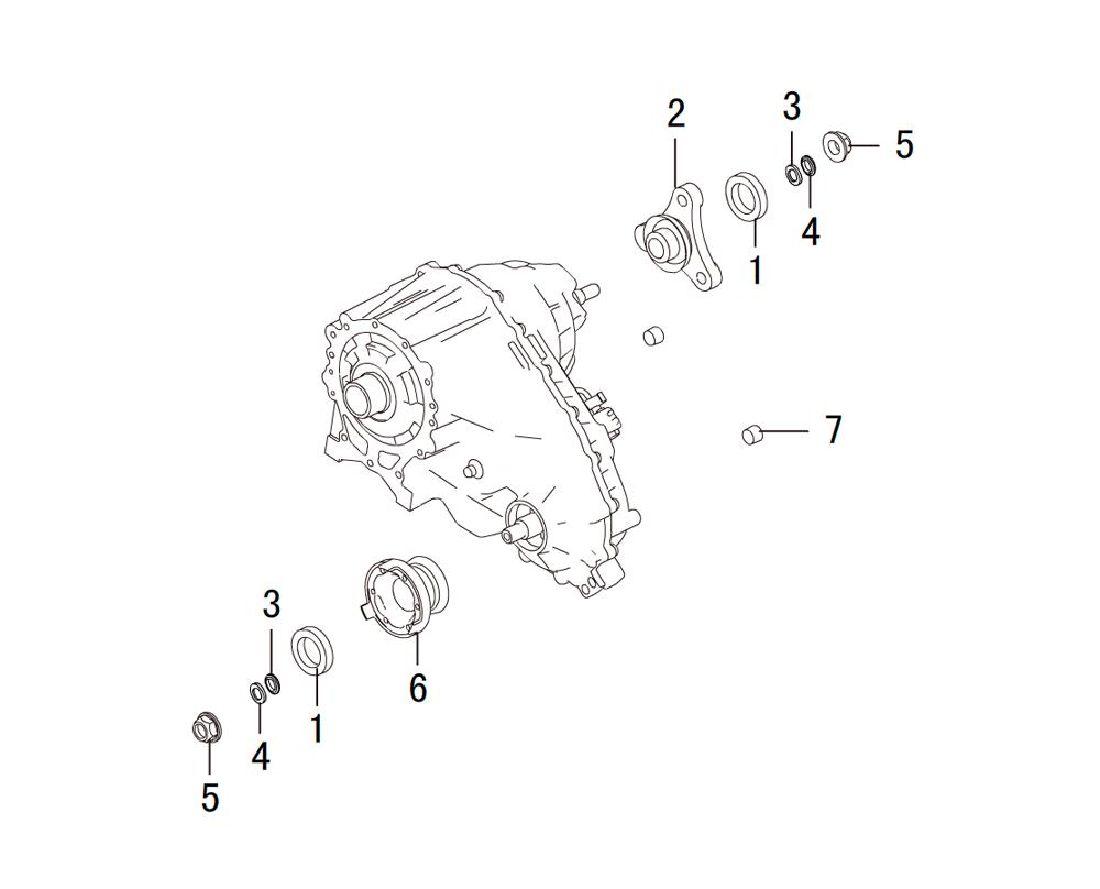 раздатка - сальники