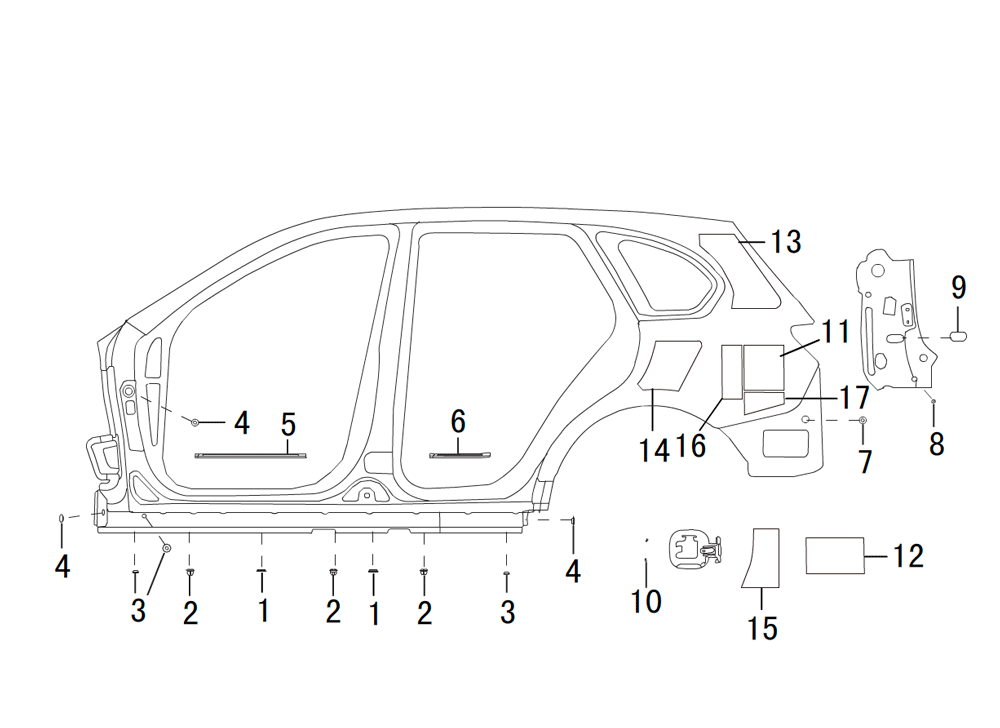 боковая панель- левая