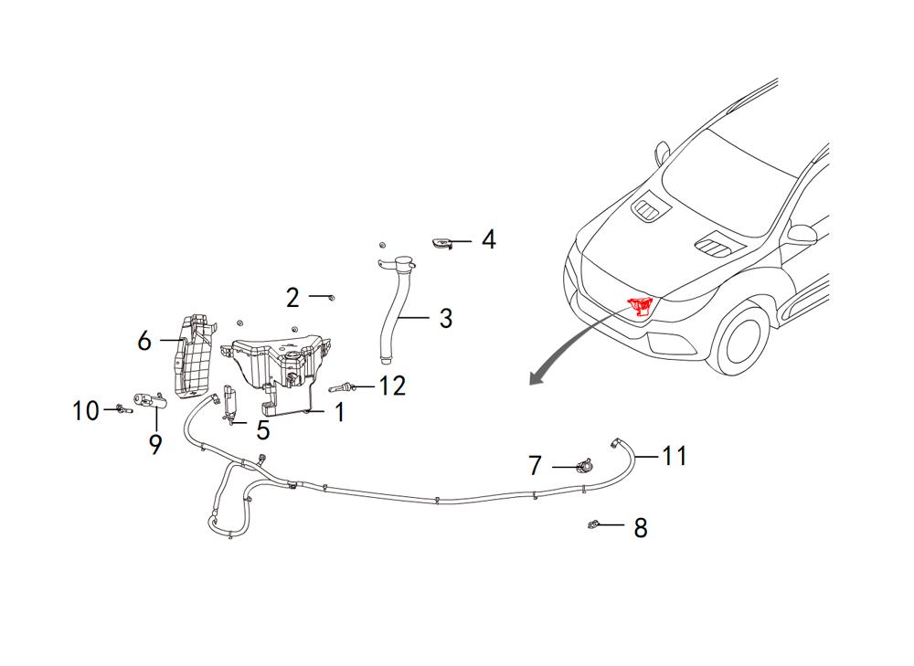 мотор омывателя стекла
