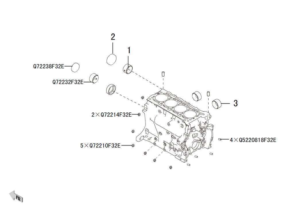 блок цилиндров 2