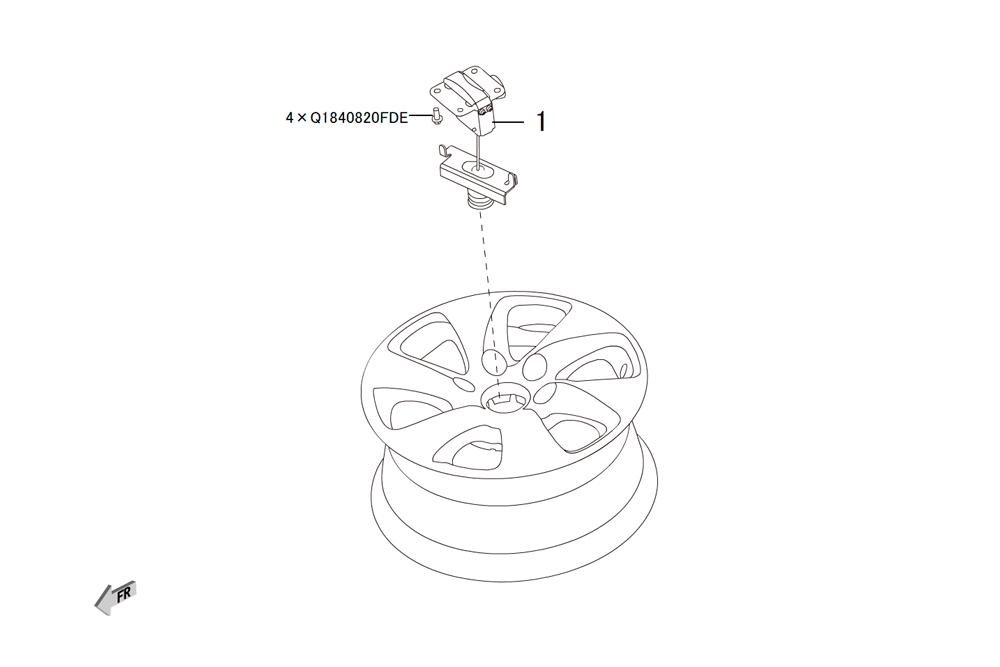 лифт запасного колеса