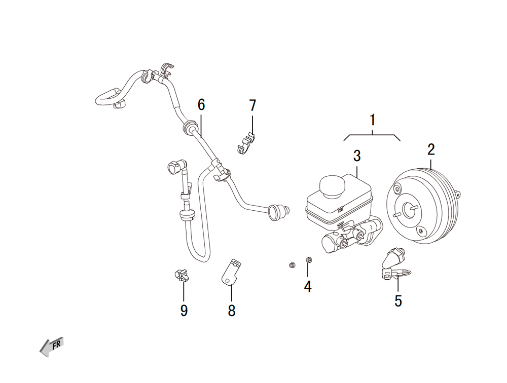 вакуумный усилитель тормоза