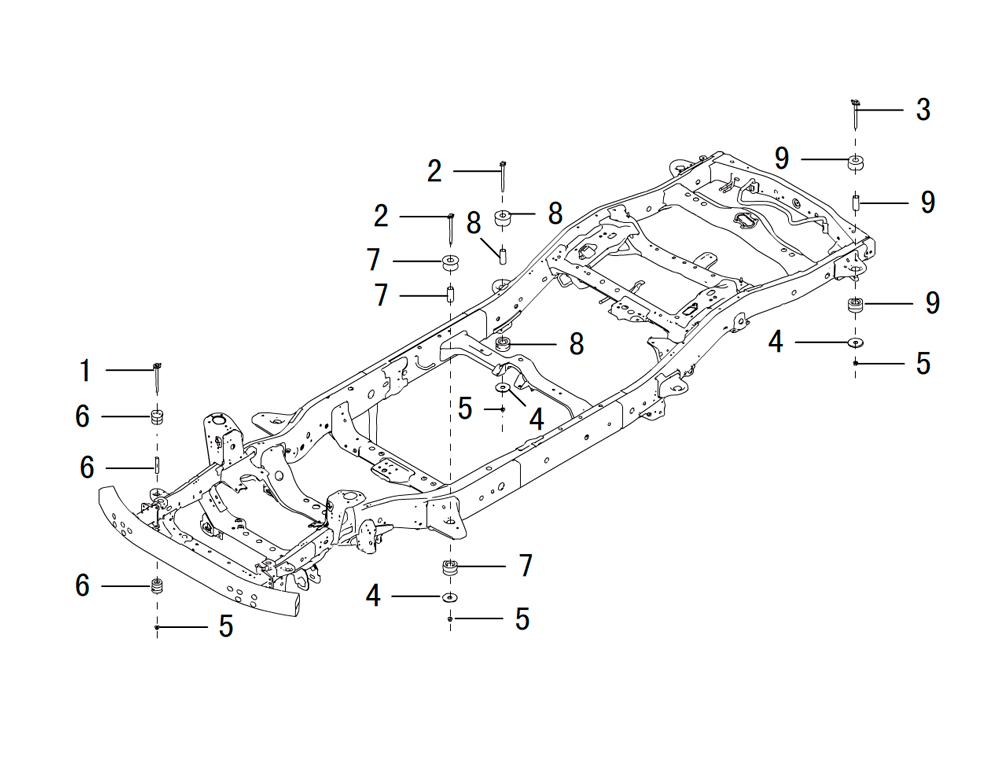 подушки кузова