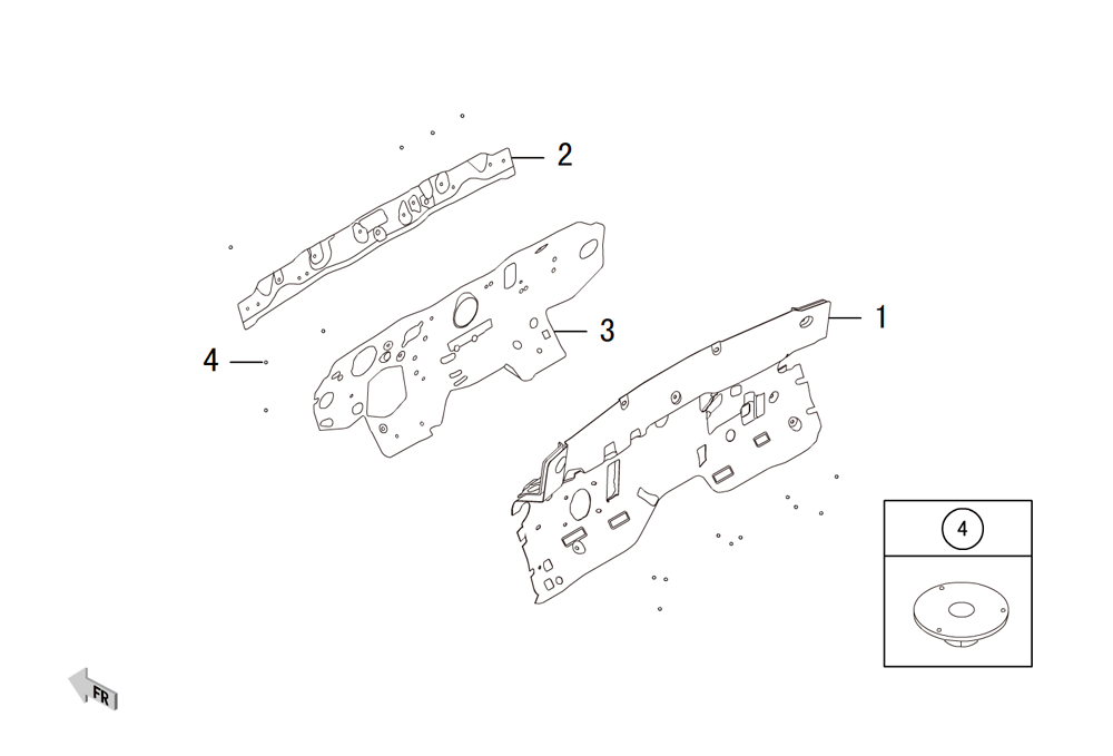 изолятор передней стены