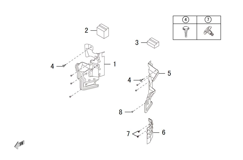 дефлектор радиатора