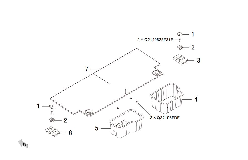 крышка багажного отделения