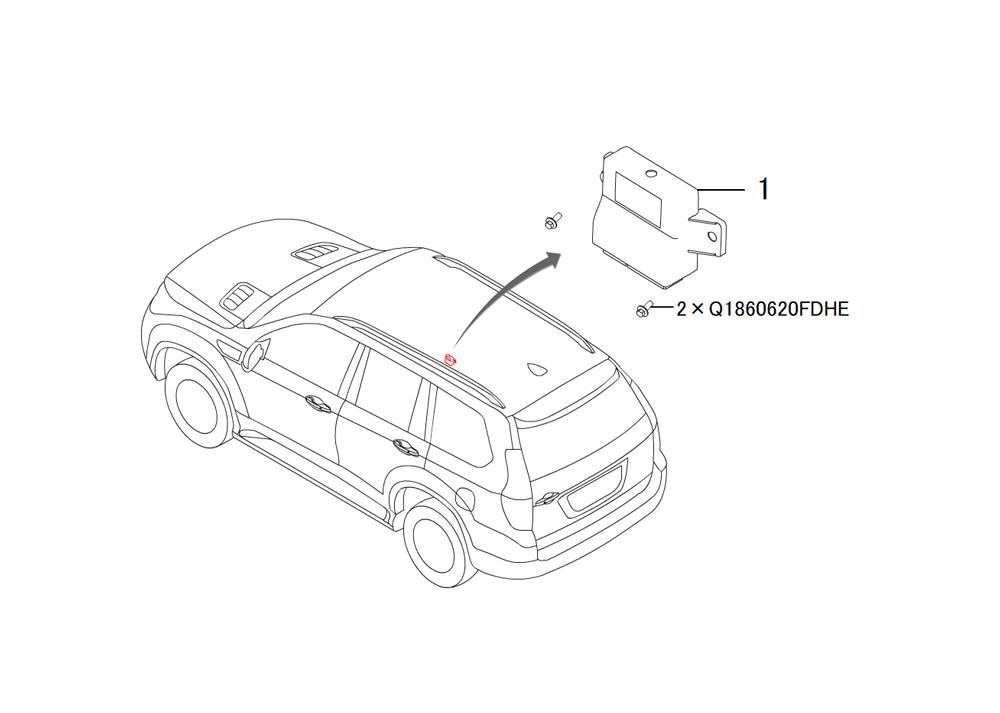 модуль двери пассажирской