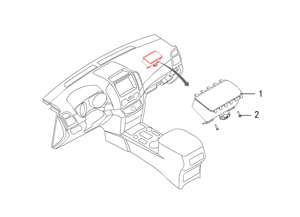 пассажирский AIR BAG
