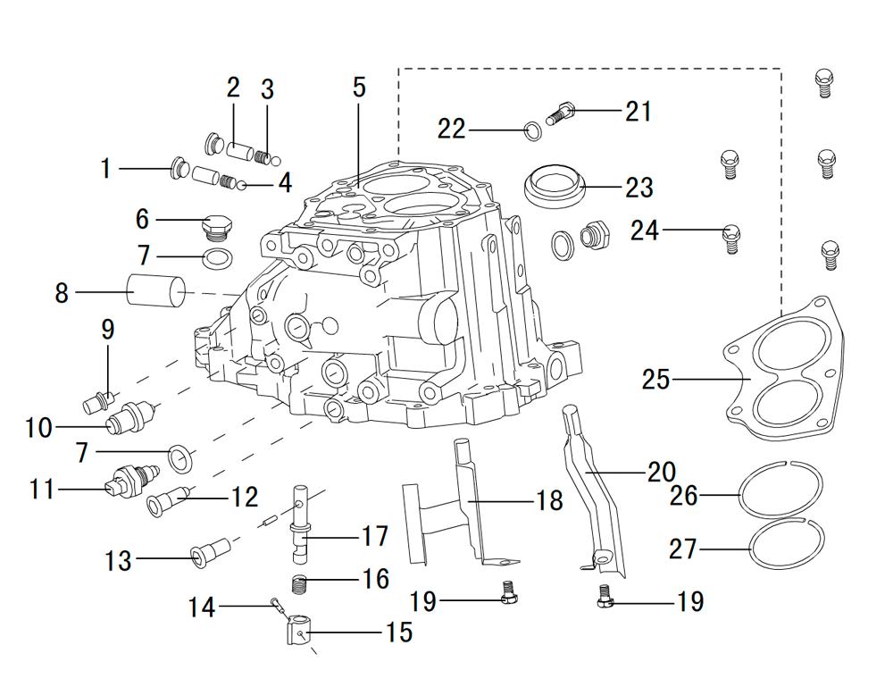 корпус кпп (вспомогательные части) вид1