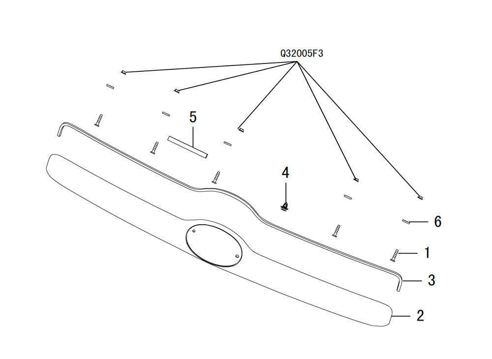 панель подсветки номерного знака