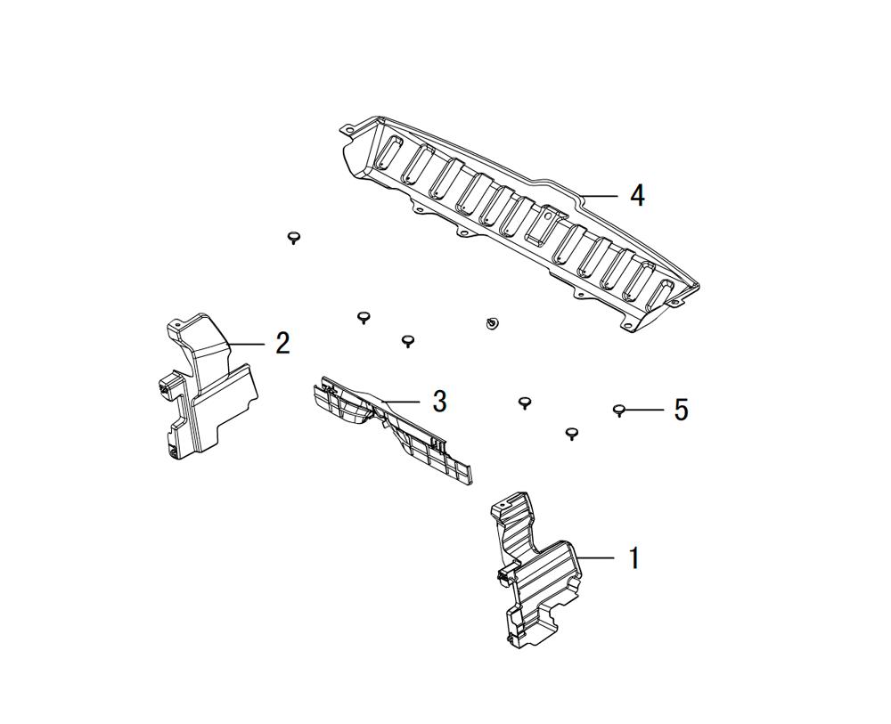 панель под решётку радиатора