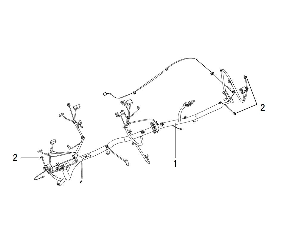 провода - инструментальная панель