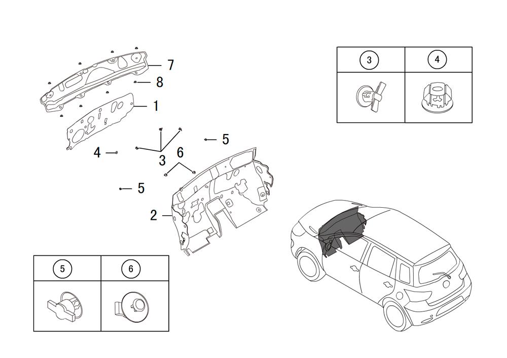 передняя стенка теплоизолятор