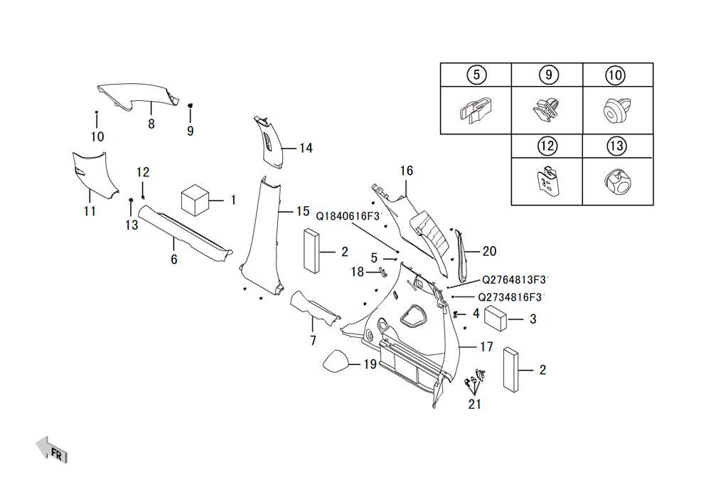 корпус- боковая отделка