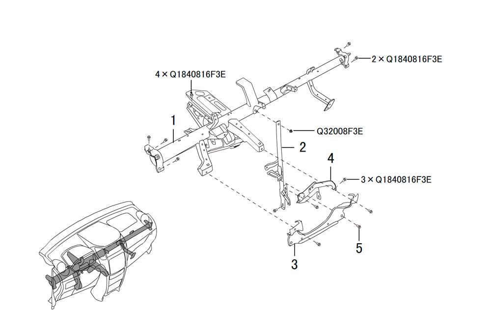 инструментальная панель 3