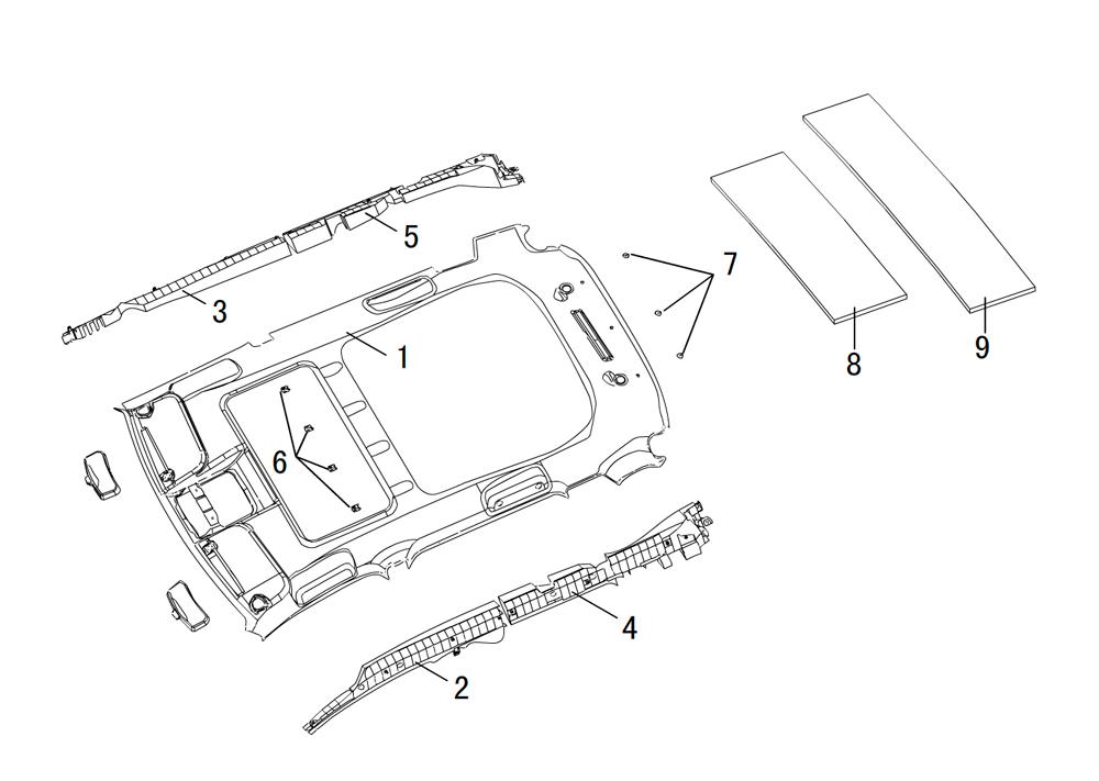 термоизоляция крыши (с люком)