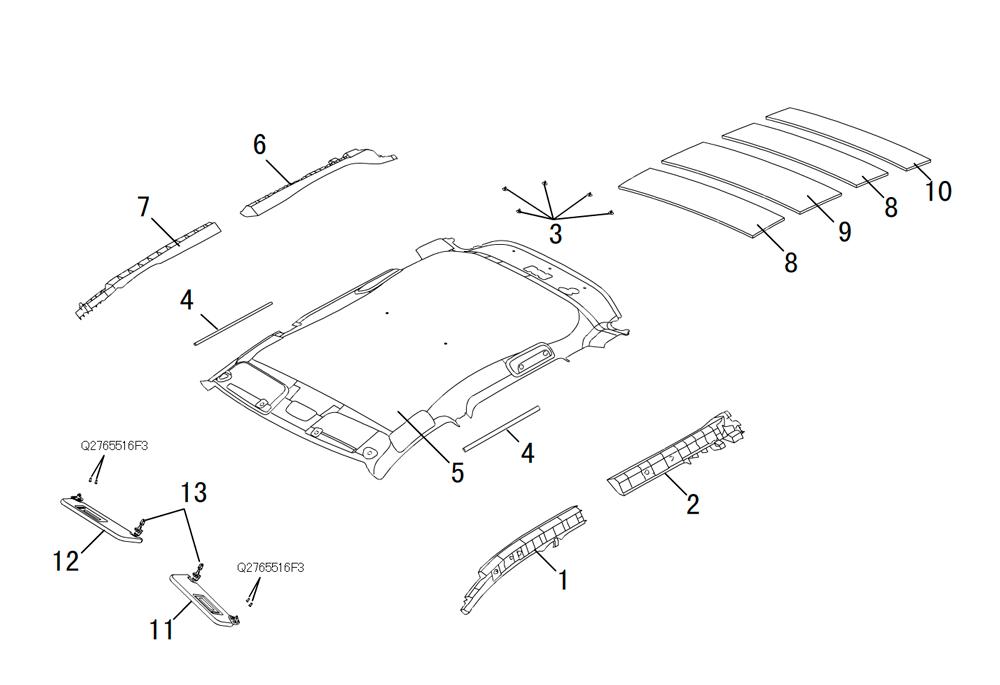 термоизоляция крыши (без люка)