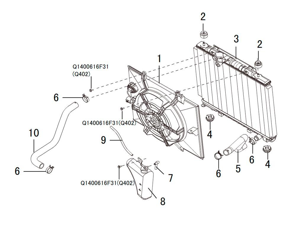 система охлаждения 2