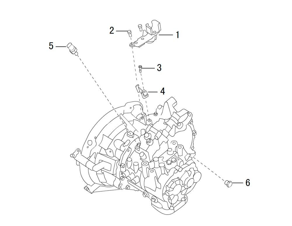 вспомогательные части - вид 2 мкпп SH78Z