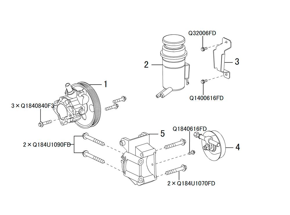 насос гидроусилителя руля