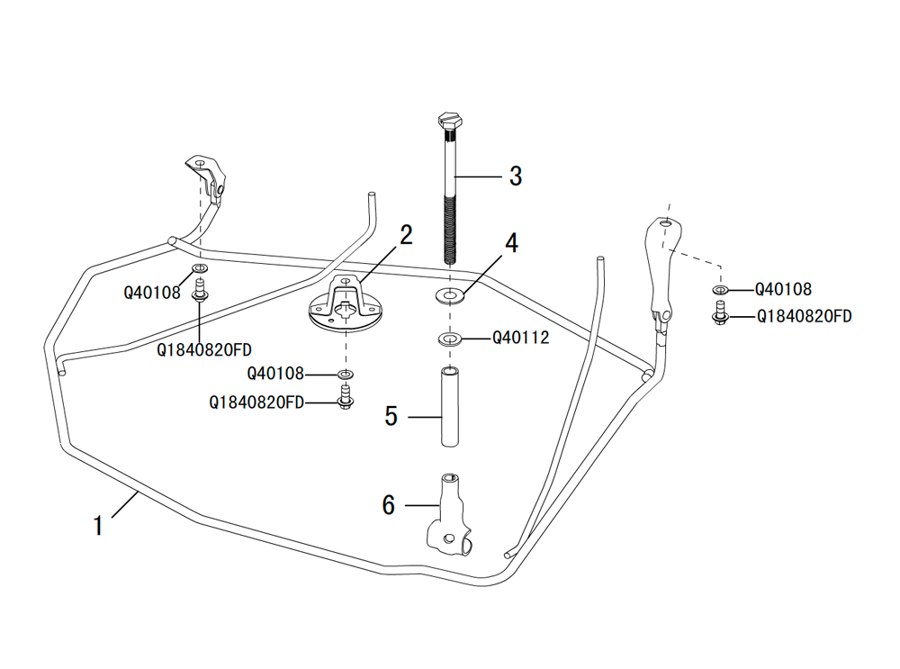 регулятор запасного колеса